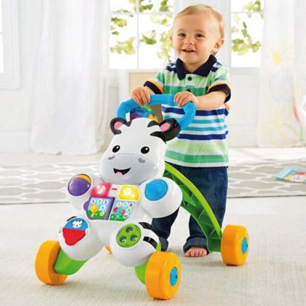 Fisher-Price Στράτα Ζέβρα DLD80  Αγόρι, Κορίτσι 12-24 μηνών, 6-12 μηνών Fisher-Price