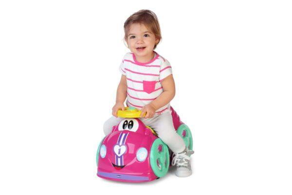 Chicco  Αυτοκινητάκι Γύρω Γυρω Όλοι Ροζ 7347010000  Κορίτσι 12-24 μηνών, 2-3 ετών Chicco