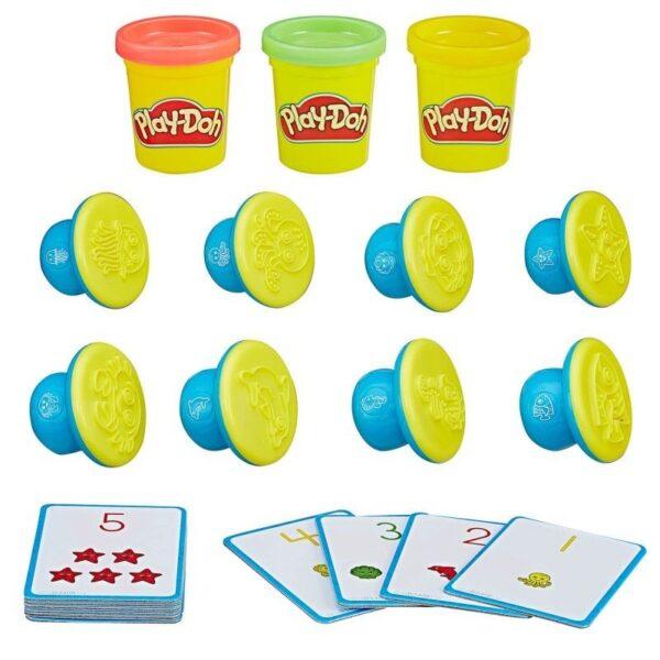 Play-Doh Σχηματίζω Και Μαθαίνω: Αριθμοί Και Μέτρημα B3406  Αγόρι, Κορίτσι 2-3 ετών, 3-4 ετών Play-Doh