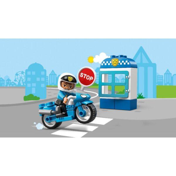 LEGO, Lego Duplo, Lego Duplo Town  LEGO Duplo Town Αστυνομική Μοτοσικλέτα 10900 Αγόρι, Κορίτσι 2-3 ετών, 3-4 ετών