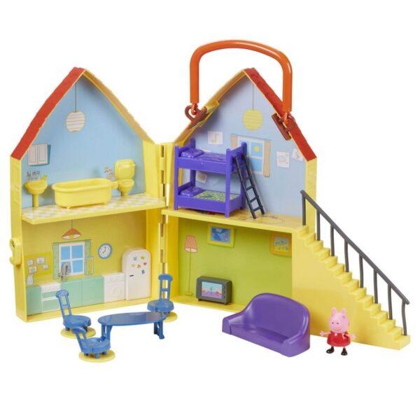 Peppa Pig Σπίτι με 1 φιγούρα GPH01469  Αγόρι, Κορίτσι 3-4 ετών, 4-5 ετών Peppa Pig