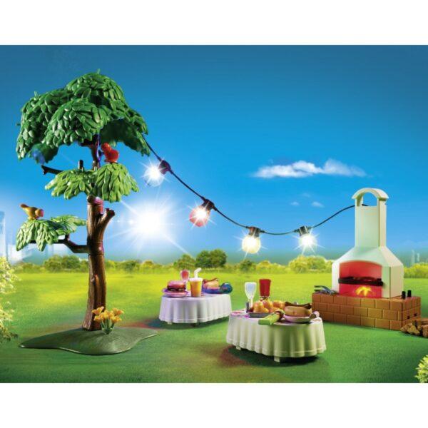 Playmobil, Playmobil City Life Κορίτσι 4-5 ετών, 5-7 ετών Playmobil City Life Πάρτυ στον κήπο με barbecue 9272