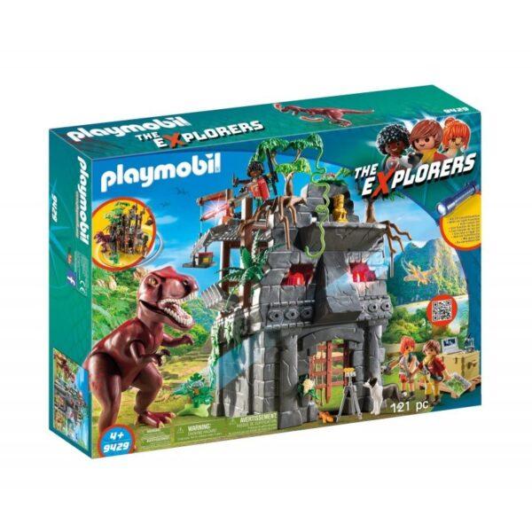 Playmobil Dinos Αρχηγείο των Εξερευνητών και Τ-Ρεξ 9429 Playmobil, Playmobil Dinos Αγόρι 4-5 ετών, 5-7 ετών