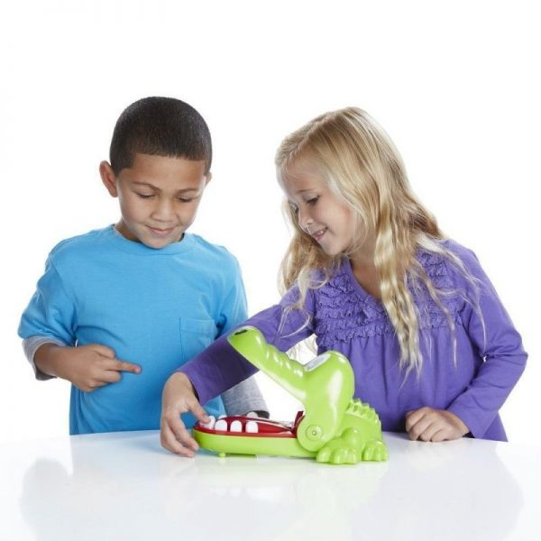 Hasbro Gaming  Επιτραπέζιο Crocodile Dentist - Κροκοδειλοδοντάκιας B0408 Αγόρι, Κορίτσι 4-5 ετών, 5-7 ετών
