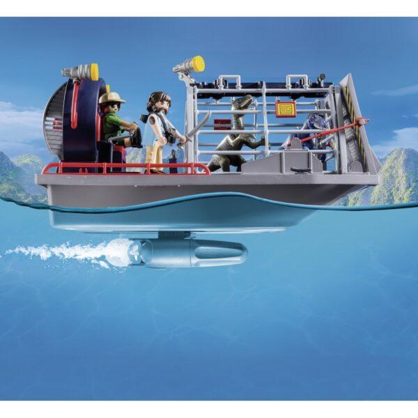 Playmobil, Playmobil Dinos Αγόρι 4-5 ετών, 5-7 ετών Playmobil Dinos Ταχύπλοο λαθροκυνηγών με κλουβί δεινοσαύρων 9433