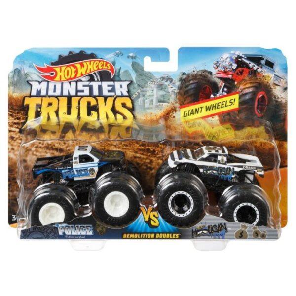 Hot Wheels Αγόρι 3-4 ετών, 4-5 ετών, 5-7 ετών Hot Wheels Οχήματα Monster Trucks Σετ Των 2 - 9 Σχέδια FYJ64