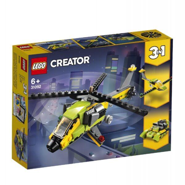 LEGO Creator Περιπέτεια Με Ελικόπτερο 31092 LEGO, Lego Creator Αγόρι, Κορίτσι 5-7 ετών, 7-12 ετών