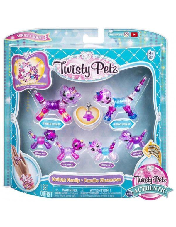 Twisty Petz Κορίτσι 4-5 ετών, 5-7 ετών Twisty petz Βραχιολοζωάκια Οικογενειακή Συσκευασία 6 τεμαχίων 6053524