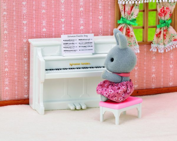 Sylvanian Families Sylvanian Families Sylvanian Families: Πιάνο με την Αδερφή Rabbit 5139 Κορίτσι 3-4 ετών, 4-5 ετών