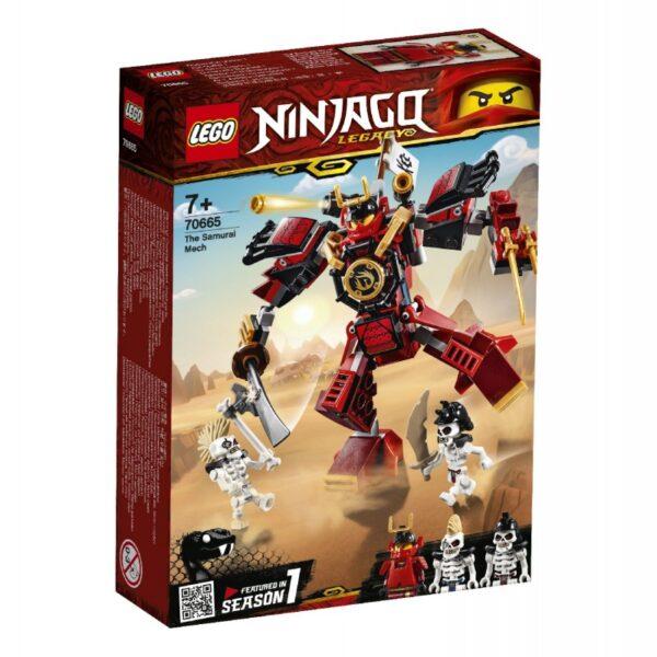 LEGO Ninjago Το Ρομπότ Σαμουράι - The Samurai Mech 70665 LEGO, Lego Ninjago Αγόρι, Κορίτσι 7-12 ετών