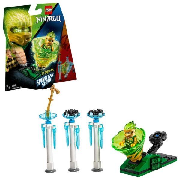 LEGO, Lego Ninjago  LEGO Ninjago Σπιντζίτσου Σλαμ - Λόϊντ 70681 Αγόρι, Κορίτσι 7-12 ετών