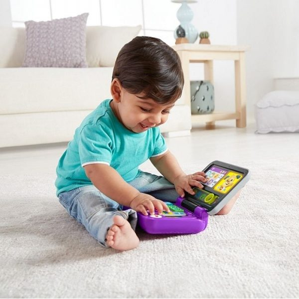 Fisher-Price  Fisher-Price Laugh And Learn Εκπαιδευτικό Laptop FXK48 Αγόρι, Κορίτσι 12-24 μηνών, 6-12 μηνών