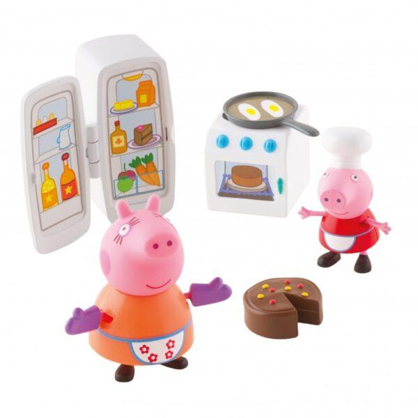 Peppa Pig Αγόρι, Κορίτσι 3-4 ετών, 4-5 ετών Peppa Pig Kουζίνα / Κάμπινγκ με 2 φιγούρες PPC40000