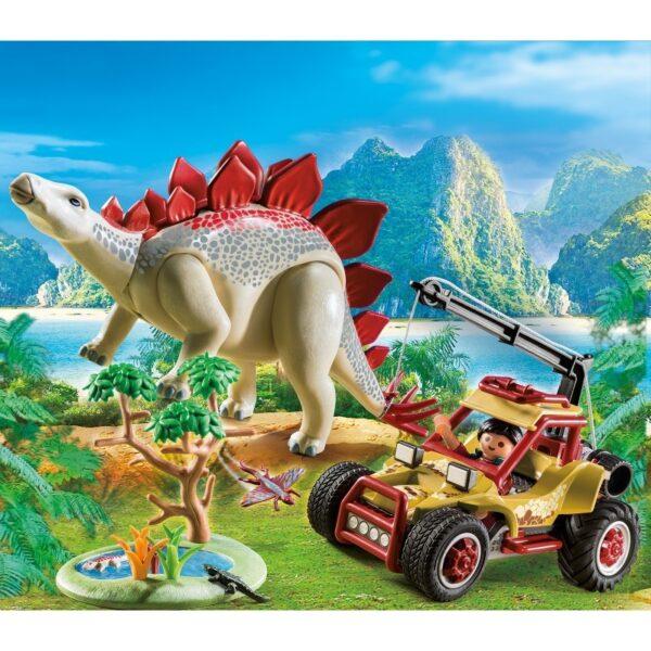 Playmobil, Playmobil Dinos  Playmobil Dinos Εξερευνητικό όχημα και Στεγόσαυρος 9432 Αγόρι 4-5 ετών, 5-7 ετών