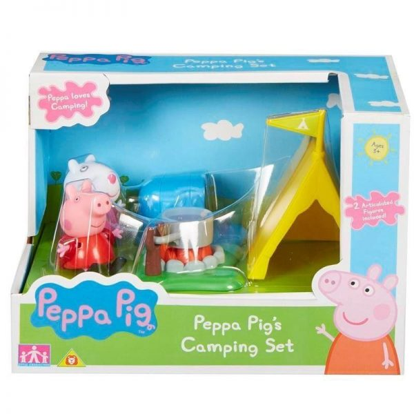 Peppa Pig Kουζίνα / Κάμπινγκ με 2 φιγούρες PPC40000 Peppa Pig Αγόρι, Κορίτσι 3-4 ετών, 4-5 ετών
