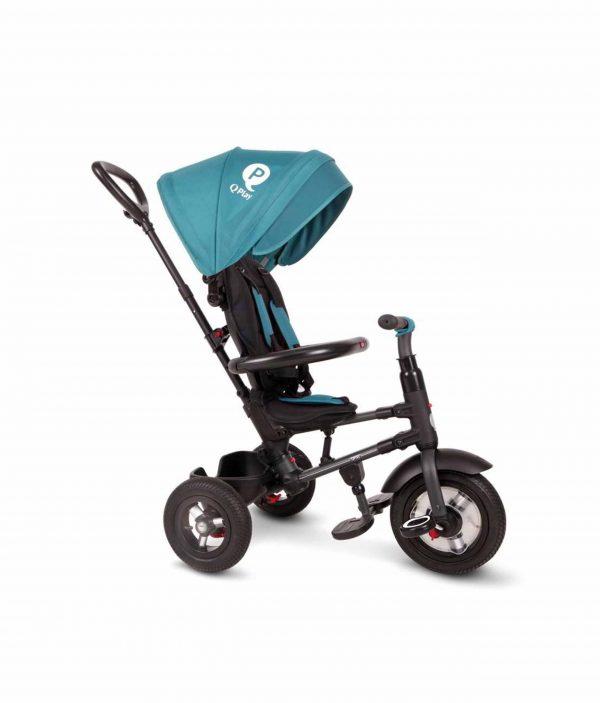 QPlay Rito  Τρίκυκλο Air Wheels Green Blu 01-1212040-03 Q Play Αγόρι, Κορίτσι 2-3 ετών