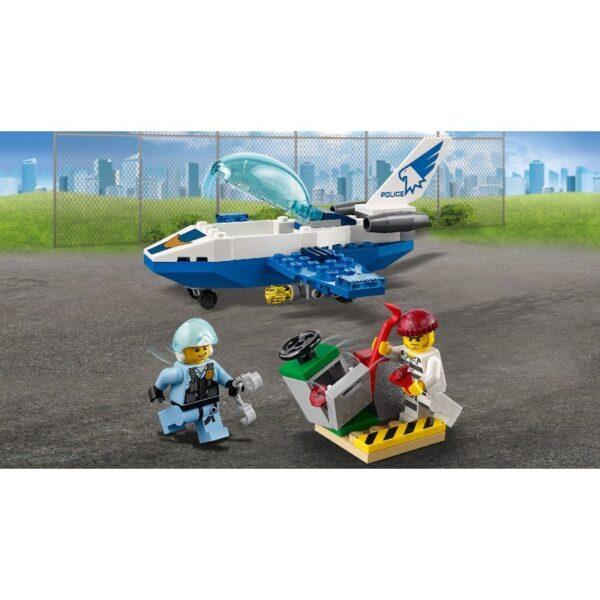 LEGO, Lego City, Lego City Police Αγόρι, Κορίτσι 4-5 ετών, 5-7 ετών LEGO City Περιπολία Με Τζετ Της Εναέριας Αστυνομίας 60206