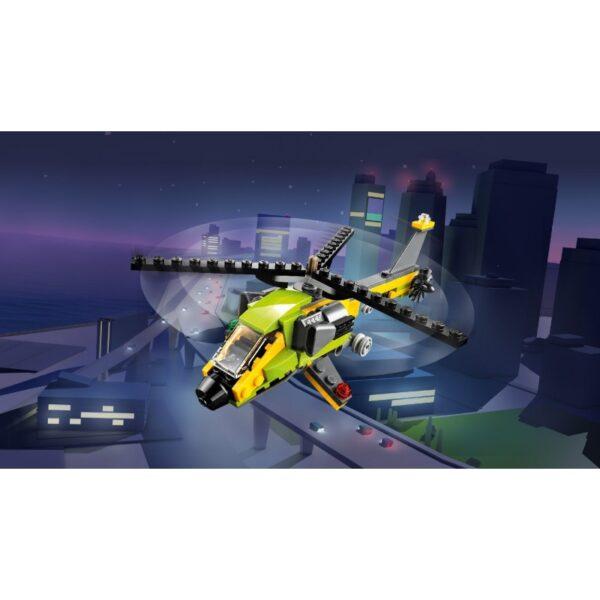 LEGO, Lego Creator Αγόρι, Κορίτσι 5-7 ετών, 7-12 ετών LEGO Creator Περιπέτεια Με Ελικόπτερο 31092