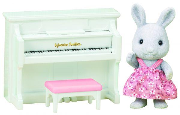 Sylvanian Families: Πιάνο με την Αδερφή Rabbit 5139 Sylvanian Families Κορίτσι 3-4 ετών, 4-5 ετών Sylvanian Families