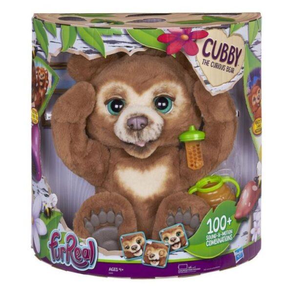 Furreal Cubby The Curious Bear Αρκουδάκι Φιλαράκι E4591 Fur Real Κορίτσι 4-5 ετών, 5-7 ετών