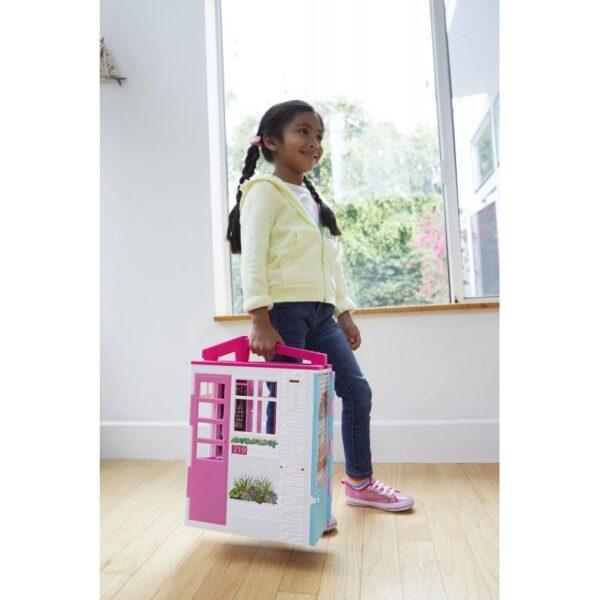 Barbie Νέο Σπιτάκι - Βαλιτσάκι FXG54 Κορίτσι 3-4 ετών, 4-5 ετών, 5-7 ετών Barbie BARBIE