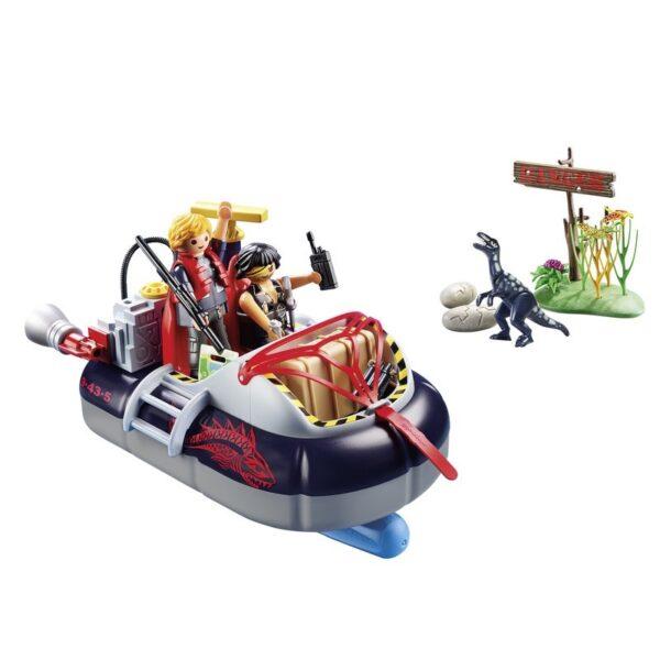 Playmobil City Action Χόβερκραφτ με εξερευνητές δεινοσαύρων 9435  Αγόρι 4-5 ετών, 5-7 ετών Playmobil, Playmobil City Action
