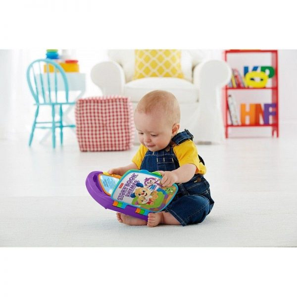 Fisher-Price Παίζω Και Μαθαίνω - Εκπαιδευτικό Βιβλίο FVT24  Αγόρι, Κορίτσι 12-24 μηνών, 6-12 μηνών Fisher-Price