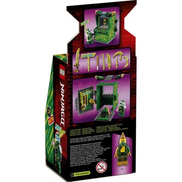 LEGO Ninjago Άβαταρ Λόιντ - Παιχνιδομηχανή Arcade 71716 7-12 ετών Αγόρι, Κορίτσι LEGO, Lego Ninjago