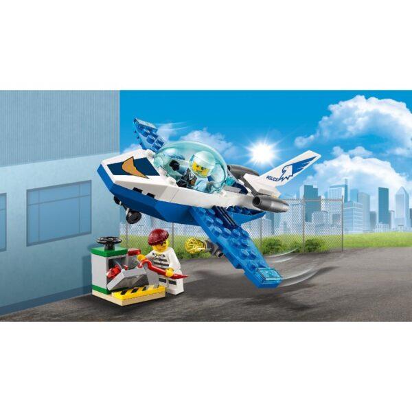 LEGO, Lego City, Lego City Police  LEGO City Περιπολία Με Τζετ Της Εναέριας Αστυνομίας 60206 Αγόρι, Κορίτσι 4-5 ετών, 5-7 ετών