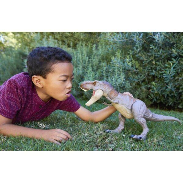 Jurassic World T-Rex Δεινόσαυρος Με Κινούμενη Ουρά Και Κεφάλι GCT91 Αγόρι 4-5 ετών, 5-7 ετών Jurassic World Jurassic World