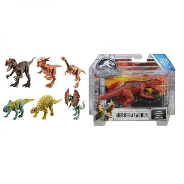 Jurassic World Jurassic World Αγόρι 3-4 ετών, 4-5 ετών, 5-7 ετών Βασικές Φιγούρες Δεινοσαύρων FPF11 6 Σχέδια