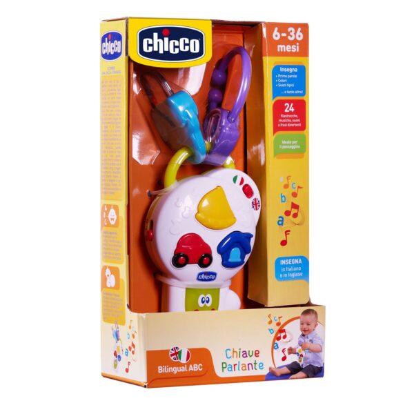 Chicco  Chicco  Εκπαιδευτικό Κλειδάκι που Μιλάει 9950000080 Αγόρι, Κορίτσι 12-24 μηνών, 6-12 μηνών