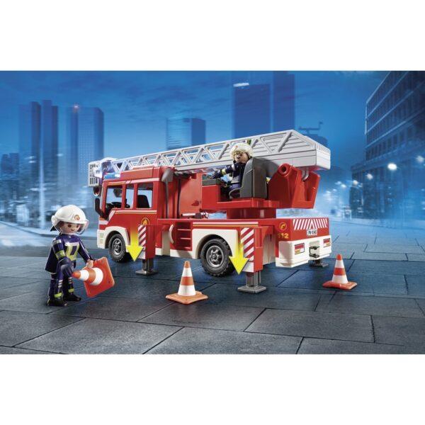 Playmobil, Playmobil City Action  Playmobil City Action Όχημα Πυροσβεστικής με σκάλα και καλάθι διάσωσης 9463 Αγόρι 4-5 ετών, 5-7 ετών