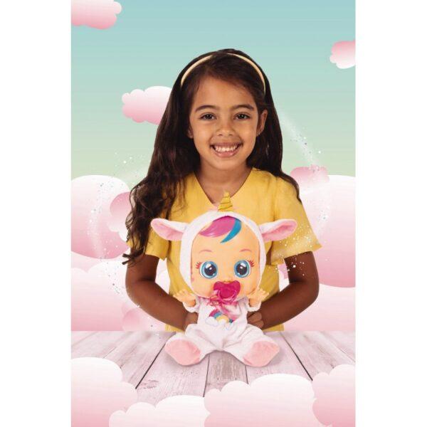 Cry Babies Κλαψουλίνια Fantasy - 2 Σχέδια (Μονόκερος, Δράκος) 4104-99180 12-24 μηνών, 2-3 ετών Κορίτσι