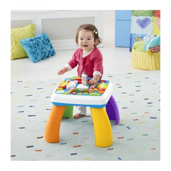 Fisher-Price Laugh And Learn Εκπαιδευτικό Τραπέζι DRH43  Αγόρι, Κορίτσι 12-24 μηνών, 6-12 μηνών Fisher-Price