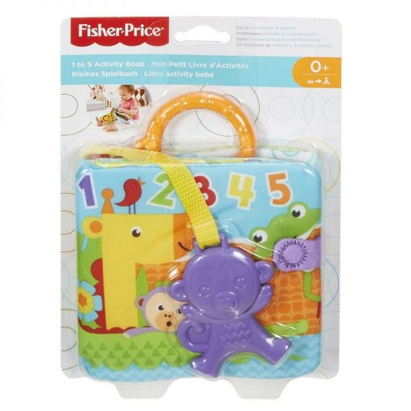 Fisher-Price Μαλακό Βιβλιαράκι Δραστηριοτήτων FGJ40  Αγόρι, Κορίτσι 0-6 μηνών, 6-12 μηνών Fisher-Price