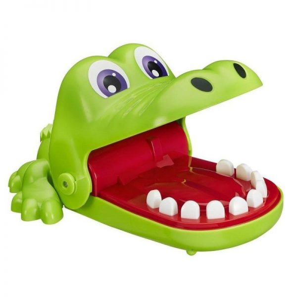 Επιτραπέζιο Crocodile Dentist - Κροκοδειλοδοντάκιας B0408 Hasbro Gaming Αγόρι, Κορίτσι 4-5 ετών, 5-7 ετών