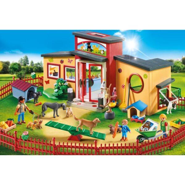 Playmobil City Life Ξενώνας μικρών ζώων 9275 Playmobil, Playmobil City Life 4-5 ετών, 5-7 ετών Αγόρι, Κορίτσι