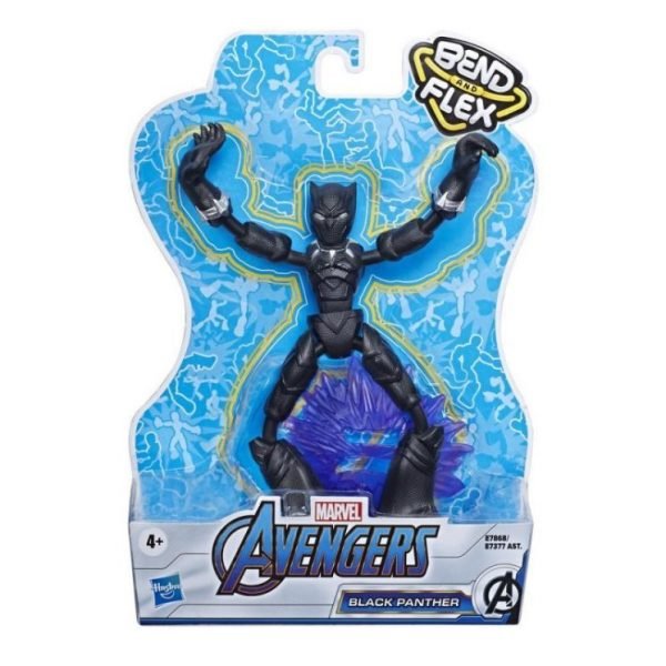 Marvel Avengers Bend And Flex Φιγούρα Δράσης 15 Εκ E7377 4-5 ετών, 5-7 ετών Αγόρι Avengers Avengers