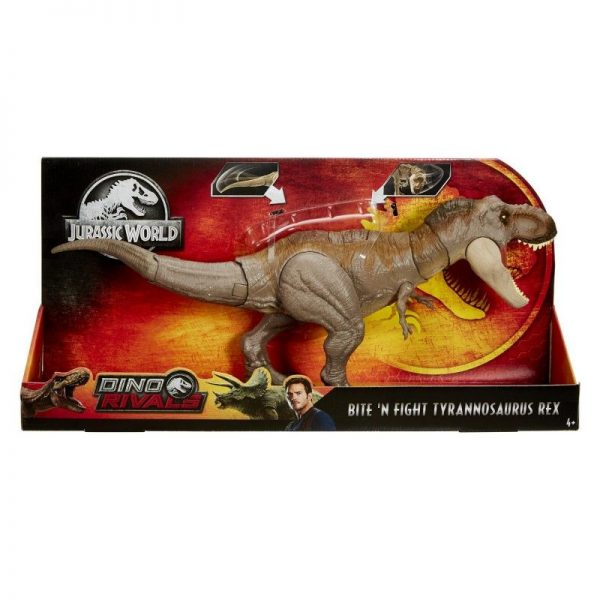 Jurassic World Jurassic World Αγόρι 4-5 ετών, 5-7 ετών Jurassic World T-Rex Δεινόσαυρος Με Κινούμενη Ουρά Και Κεφάλι GCT91