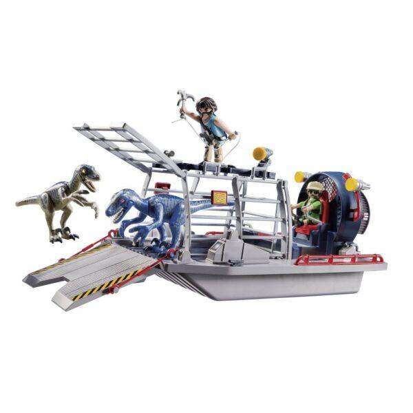 Playmobil Dinos Ταχύπλοο λαθροκυνηγών με κλουβί δεινοσαύρων 9433  Αγόρι 4-5 ετών, 5-7 ετών Playmobil, Playmobil Dinos