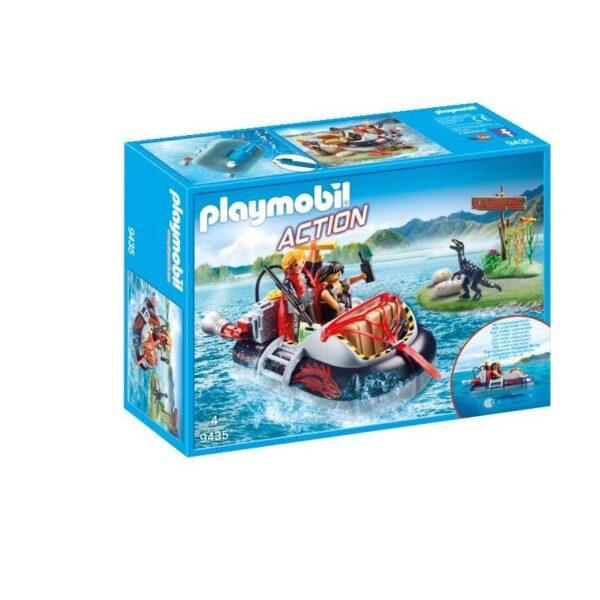 Playmobil City Action Χόβερκραφτ με εξερευνητές δεινοσαύρων 9435 Playmobil, Playmobil City Action Αγόρι 4-5 ετών, 5-7 ετών