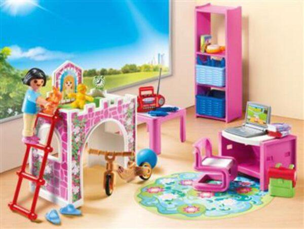 Playmobil Μοντέρνο Παιδικό Δωμάτιο Playmobil, Playmobil City Life Unisex