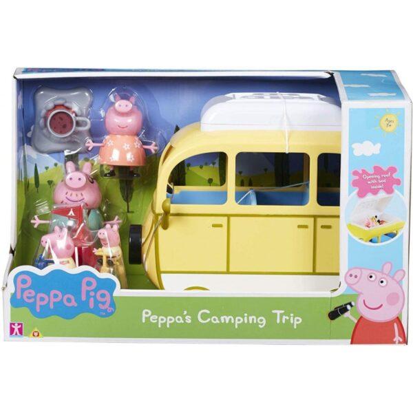 Peppa Pig Όχημα Για Κάμπινγκ Της Πέππα PPC46000 Peppa Pig Αγόρι, Κορίτσι 3-4 ετών, 4-5 ετών Peppa Pig