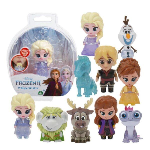 Disney Frozen II Whisper And Glow Φιγούρα Που Φωτίζει - 10 Σχέδια FRN72000 FROZEN Κορίτσι 3-4 ετών, 4-5 ετών Frozen