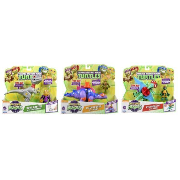 Χελωνονιντζάκια TMNT Teenage Mutant Ninja Turtles Half-Shell Heroes Dino με φιγούρα TUH03111  Αγόρι 3-4 ετών, 4-5 ετών Xελωνονιντζάκια - Teenage Mutant Ninja Turtles