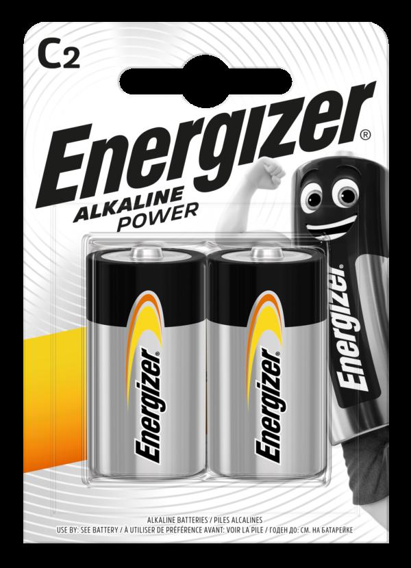 Energizer Αλκαλικές Μπαταρίες Power C BP2   F016617 2τμχ Energizer