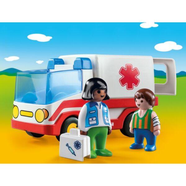 Playmobil γιατρός και ασθενοφόρο  Unisex  Playmobil, Playmobil 1.2.3