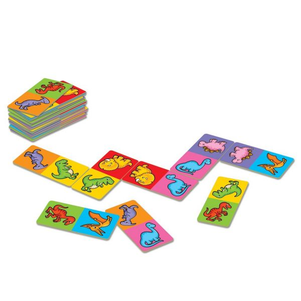 Orchard Toys Dinosaur Dominoes Mini Game  Unisex, Αγόρι, Κορίτσι  ORCHARD TOYS