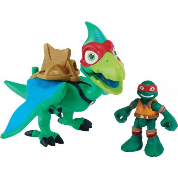 Xελωνονιντζάκια - Teenage Mutant Ninja Turtles Χελωνονιντζάκια TMNT Teenage Mutant Ninja Turtles Half-Shell Heroes Dino με φιγούρα TUH03111 Αγόρι 3-4 ετών, 4-5 ετών